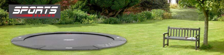 trampolines flatground