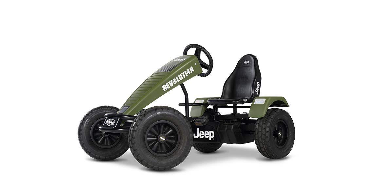 Jeep® Revolution pedal go-kart BFR
