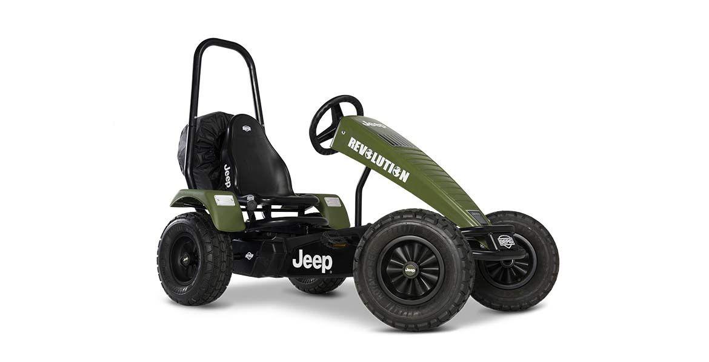 Jeep® Revolution pedal go-kart BFR-3