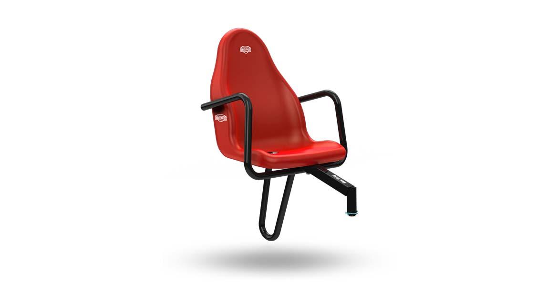 BERG Passenger seat Basic/Extra Red