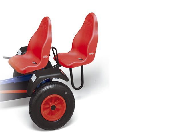 Passenger Seat red