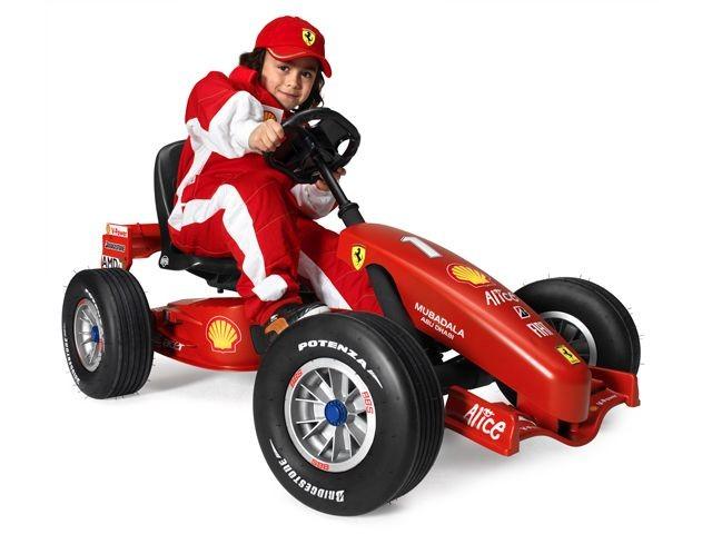 Ferrari F1 pedal go-kart