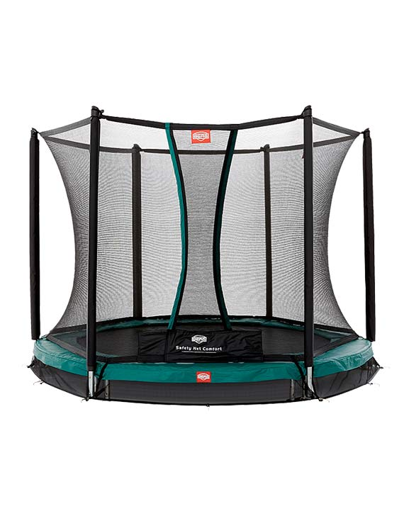 BERG InGround Talent Green 240 + Safety Net Comfort