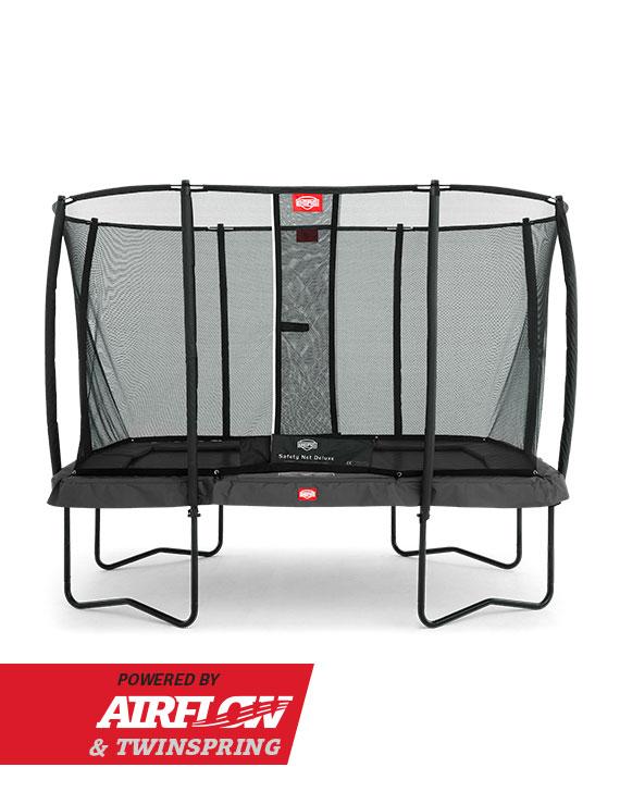 BERG EazyFit (Regular) Grey + Safety Net Deluxe EazyFit