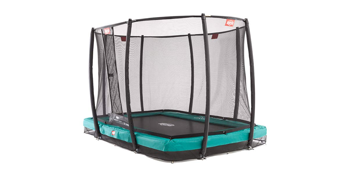 BERG InGround EazyFit + Safety Net  Deluxe EazyFit