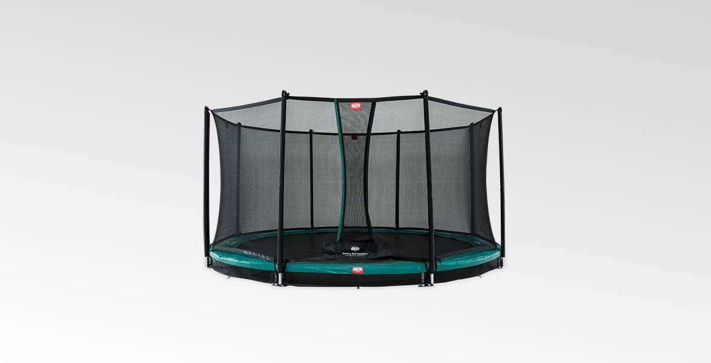 BERG InGround Champion Green 380 + Safety Net Comfort