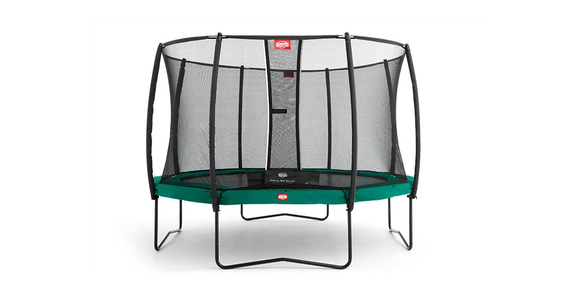 BERG Champion Green 270 + Safety Net Deluxe