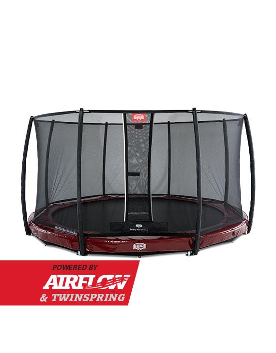 BERG InGround Elite Red 430 + Safety Net Deluxe