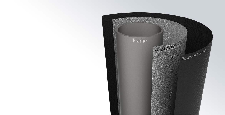BERG InGround Elite Grey 430 + Safety Net Deluxe