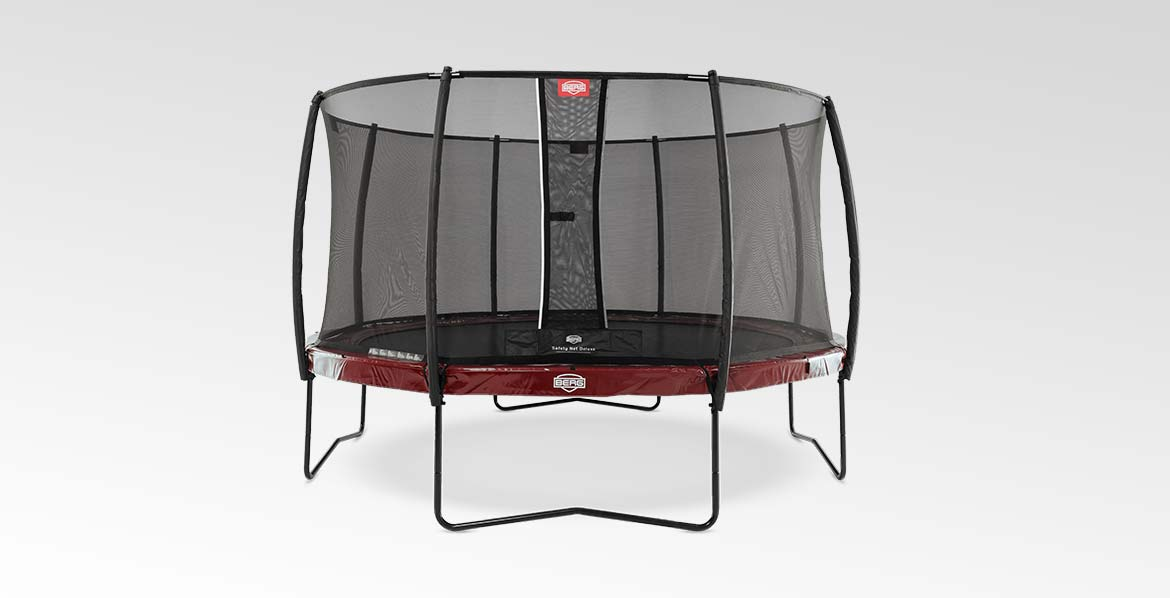 BERG Elite Red 430 + Safety Net Deluxe