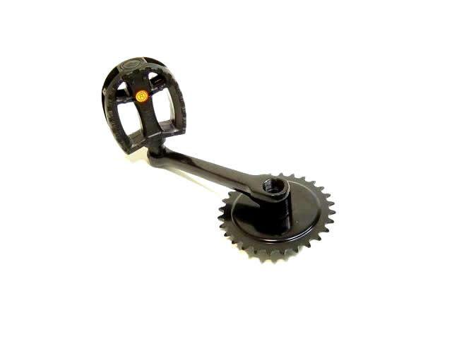 Crank 28Tx140 + pedal FP-829 R