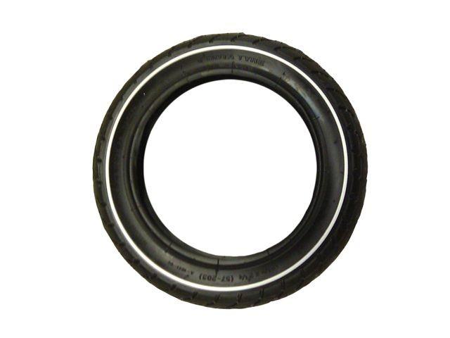 Tire 12.5x2.25-8 slick (white striping)