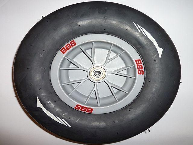 Buddy Ferrari spare wheel