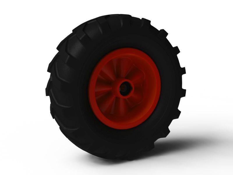 Wheel red 460/165-8 Farm left
