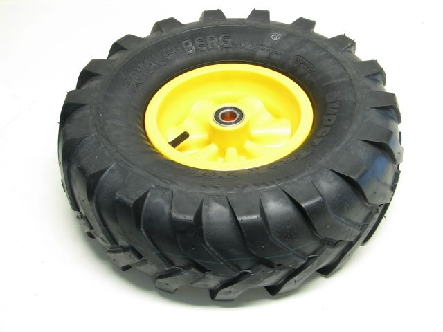 Wheel yellow 460/165-8 Farm right