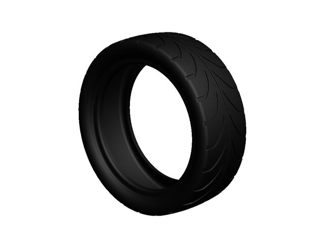 Tire 4.30/150-12 slick