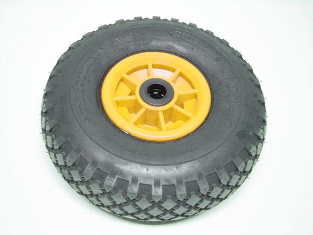 Wheel yellow 3.00-4 needle bearing