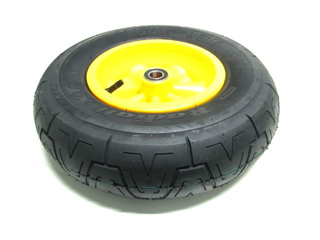 Wheel yellow 400/100-8  radiall symmetric