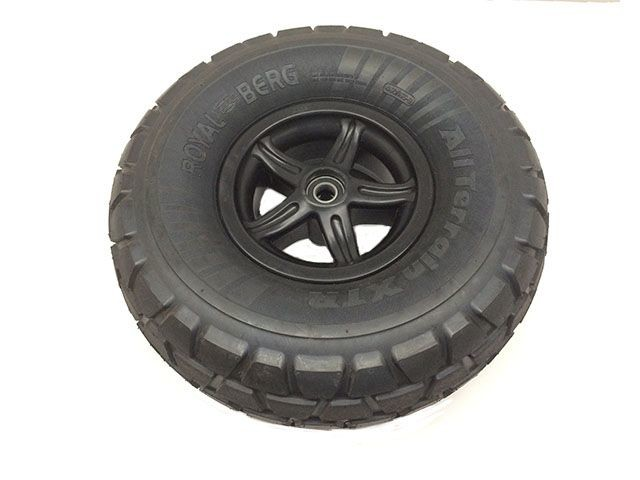 Wheel 5-spoke black 460/165-8 all terrain