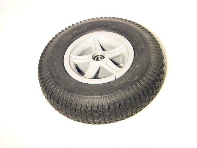 Wheel 5-spoke grey 4.80/400-8 block
