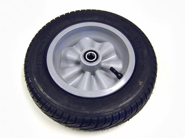 Wheel grey 350/100-8 slick right