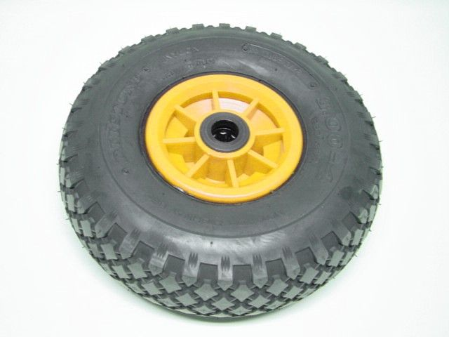 Wheel yellow 3.00-4 needle bearing