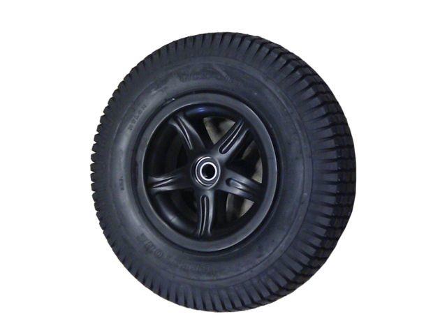 Wheel 5-spoke black 4.80/400-8 block