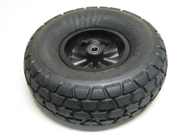 Wheel black 460/165-8 all terrain