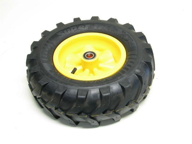Wheel yellow 400/140-8 Farm right