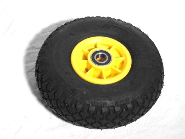 Wheel yellow 3.00-4