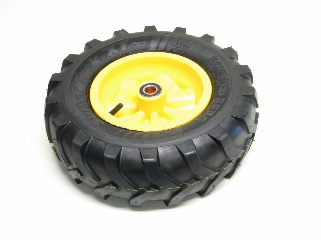 Wheel yellow 400/140-8 Farm left