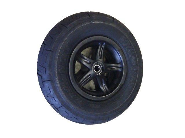 Wheel black 400/100-8 radiall