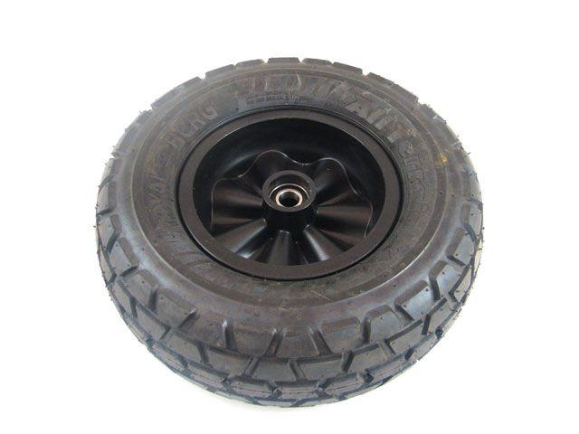 Wheel black 400/140-8 all terrain