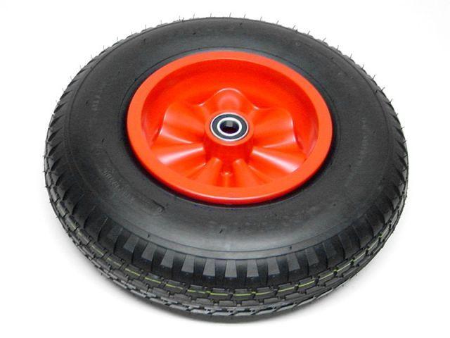 Wheel red 400/100-8 symmetric