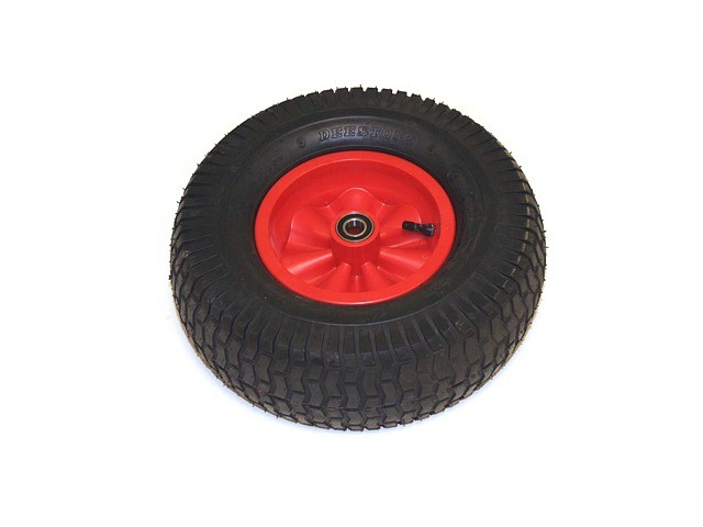 Wheel red 16x6.50-8