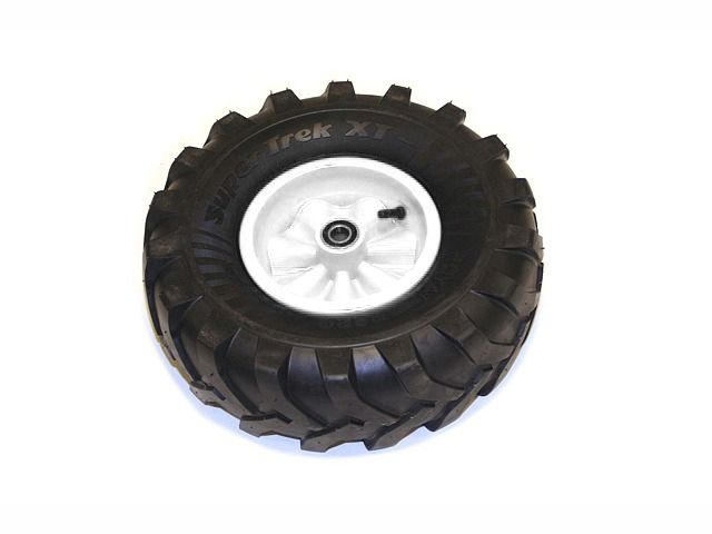 Wheel white 460/165-8 Farm left