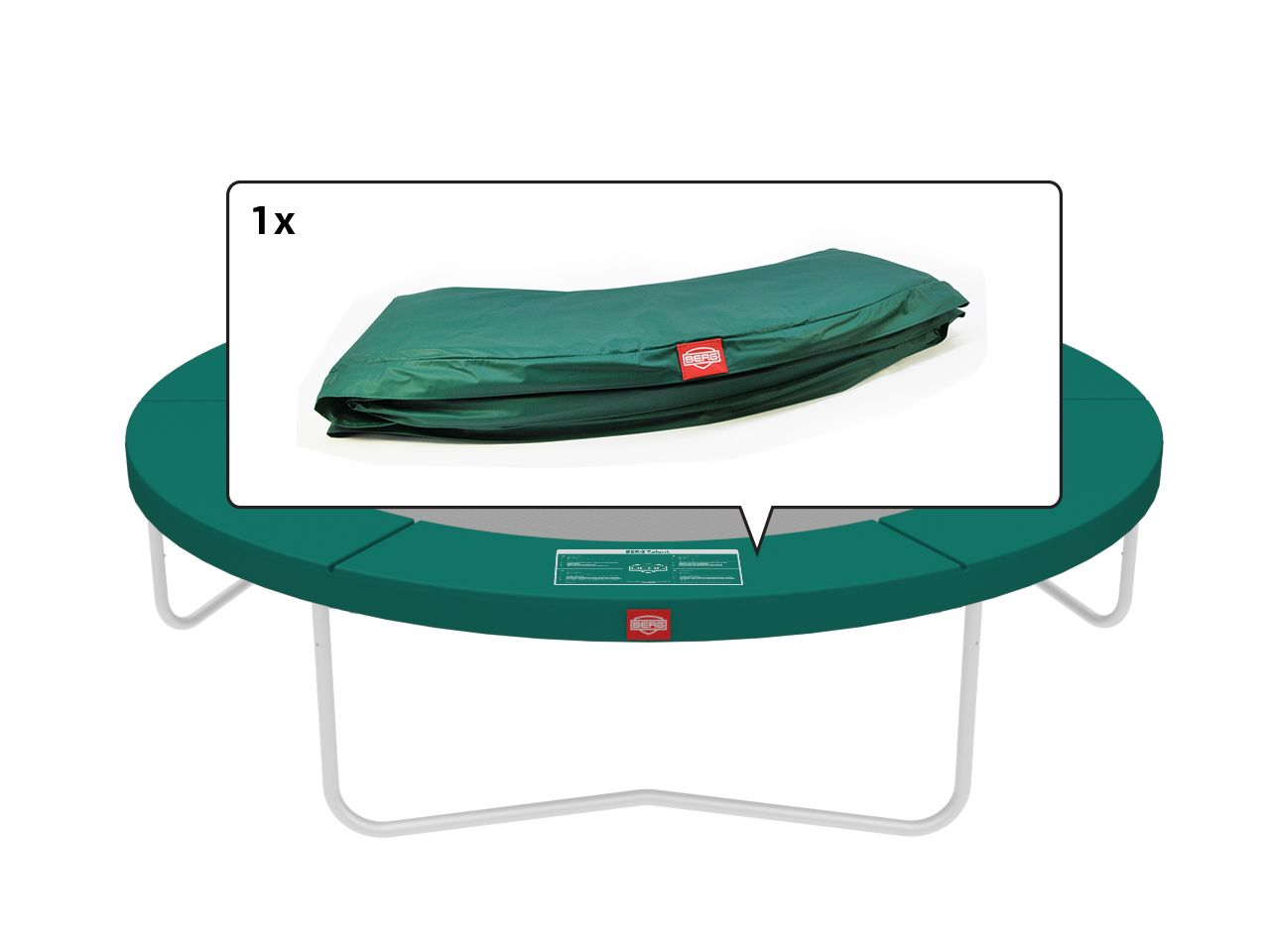 Talent - Padding green 300 (10ft)