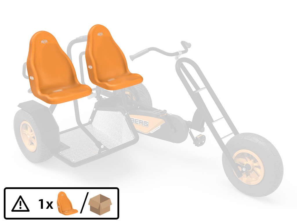 XL Frame - Seat Duo Chopper