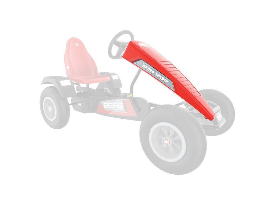 XL Frame - Spoiler Extra Sport rood
