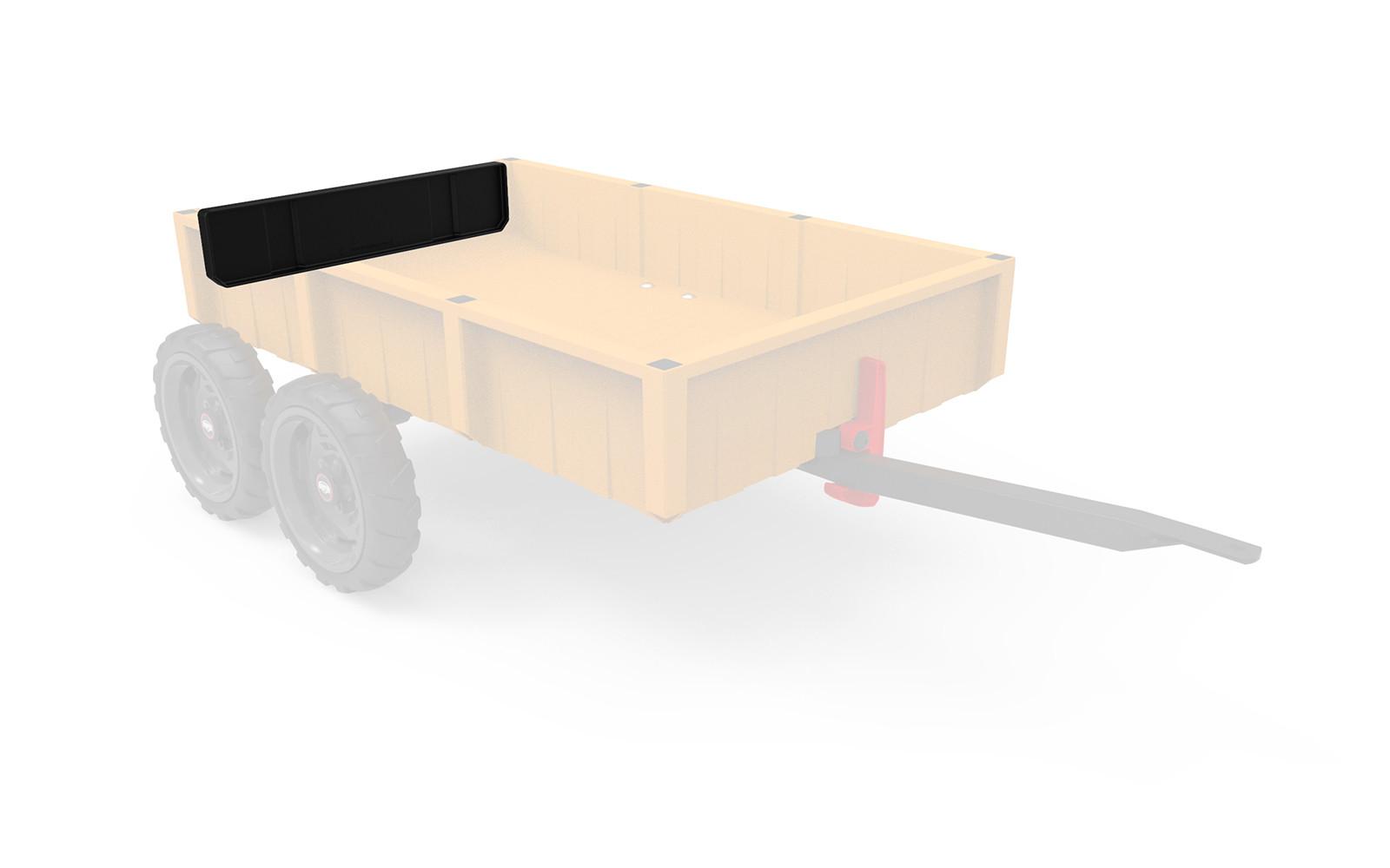 Large Trailer - Rear hatch black