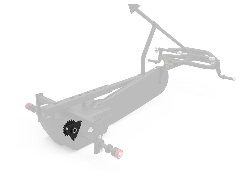 XL Frame - Rear axle center set