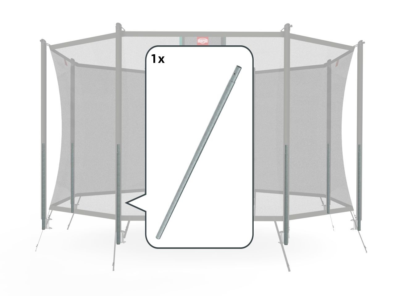 Safety Net Comfort  - Lower tube InGround