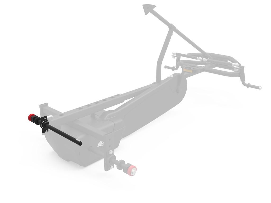 XL Frame - Rear axle left