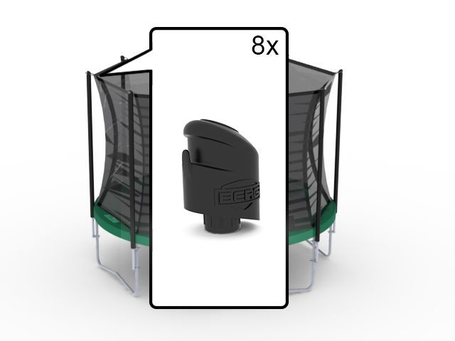 Safety Net Comfort - Top Caps (8x)