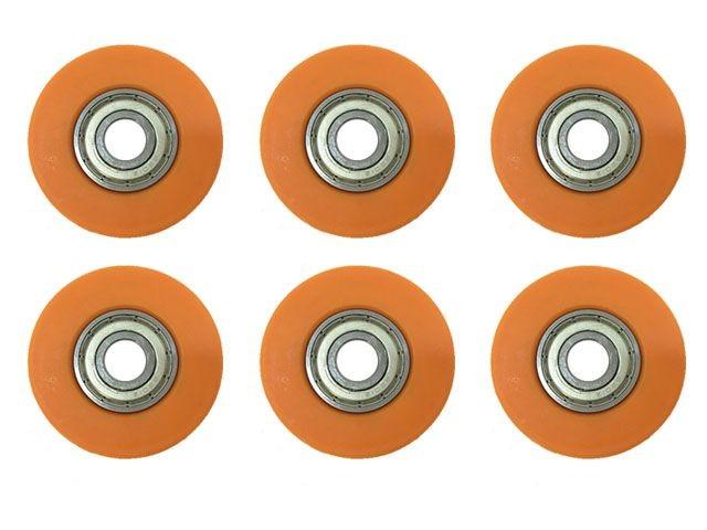 Buddy - Wheel cap cover - Orange (6x)