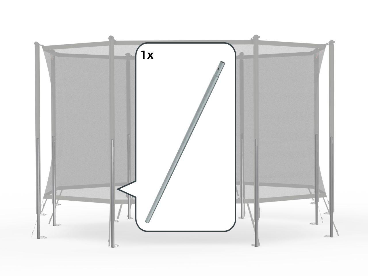 Safety Net Comfort - Onderpaal + veerclip