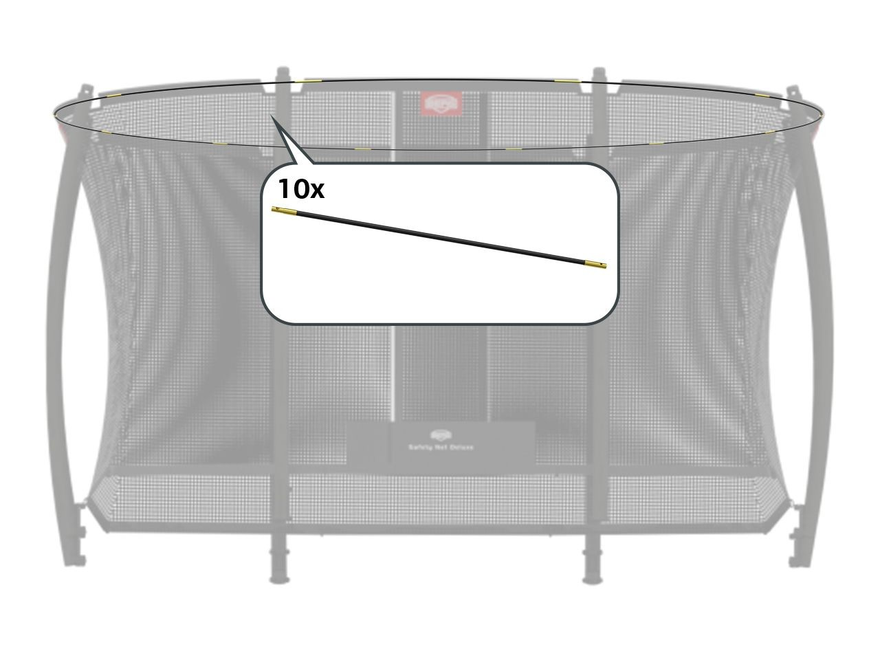 Safety Net Deluxe - Tent tubes EazyFit