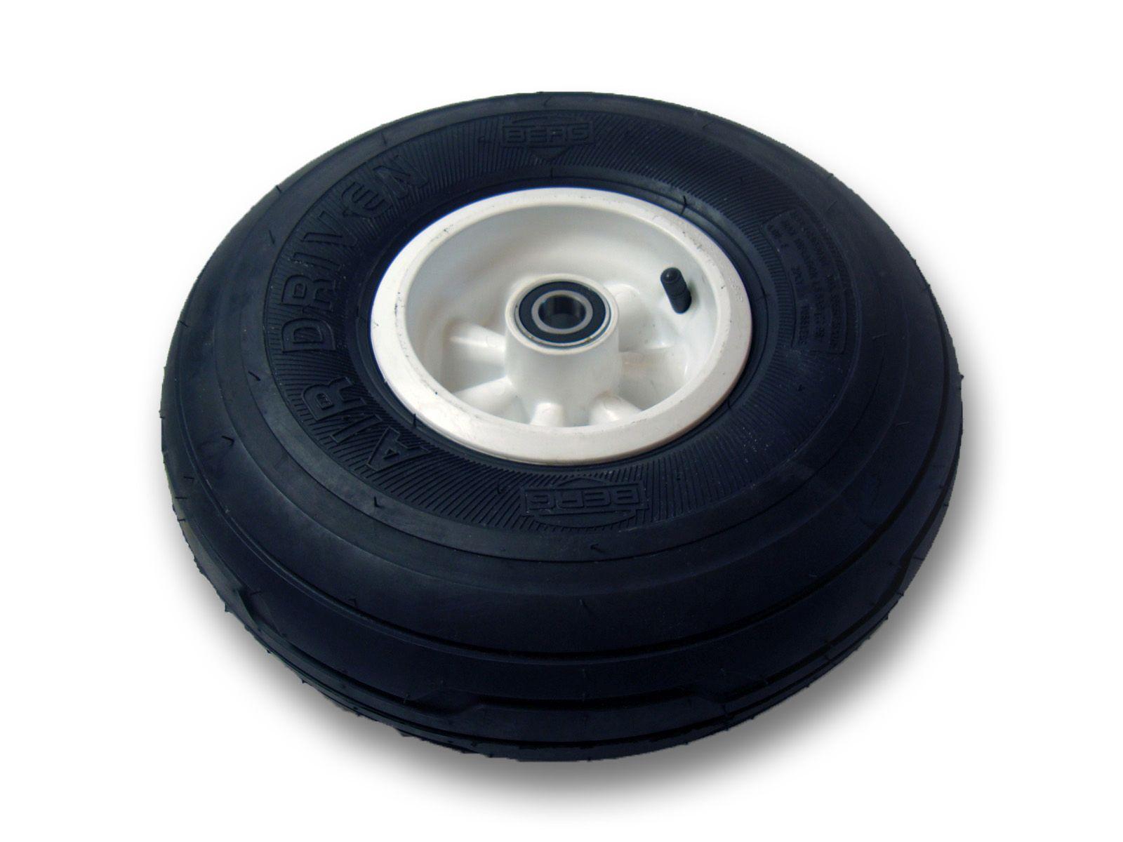 Wheel white 4.00-6 radiall