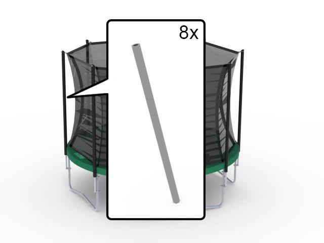 Safety Net Comfort - foam set (8x upper; 8x lower)(White)