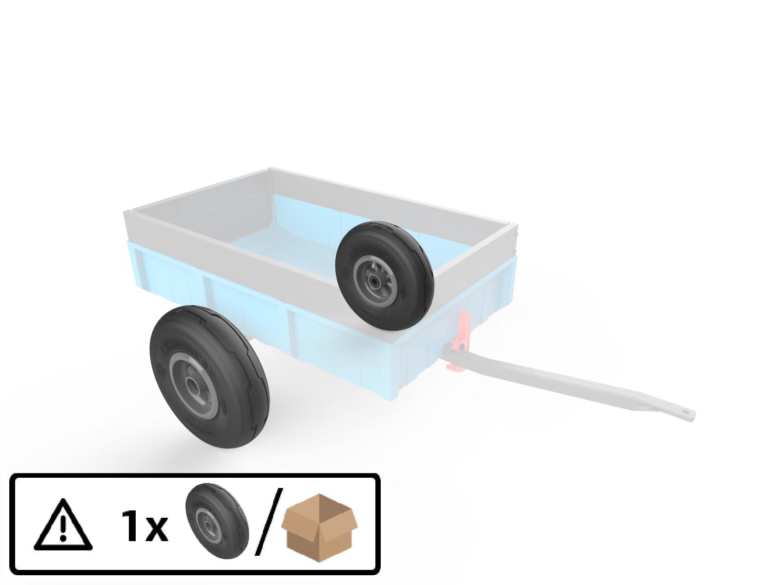 Wheel Antracite 4.00-6 radiall